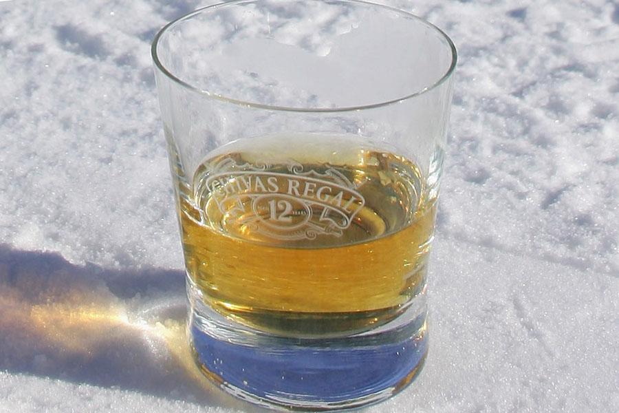 При какой температуре замерзает виски
