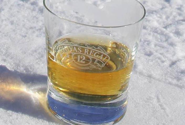 температура замерзания виски