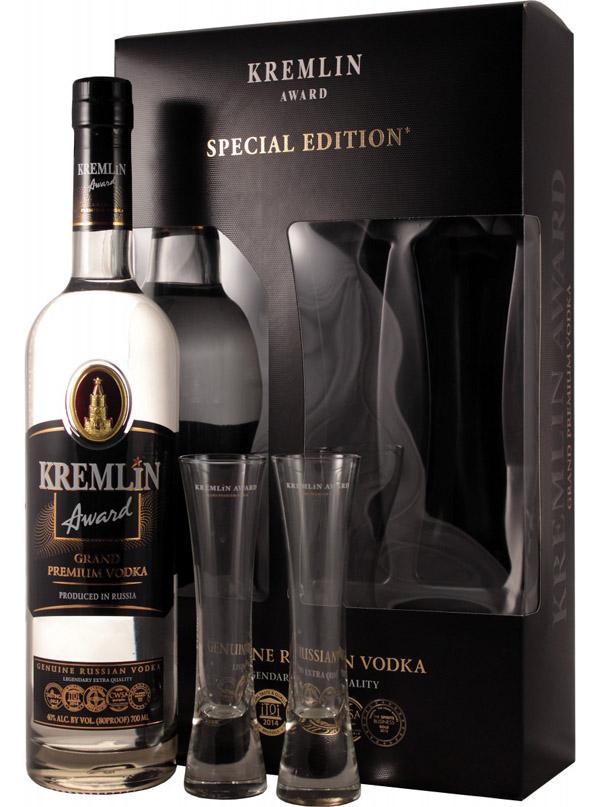 Водка Кремлин подарок