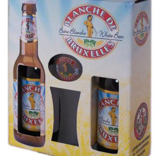 Набор пива с бокалом