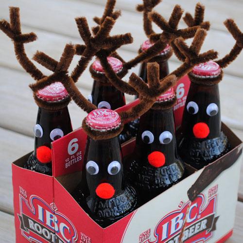 Набор пива новогодние олени
