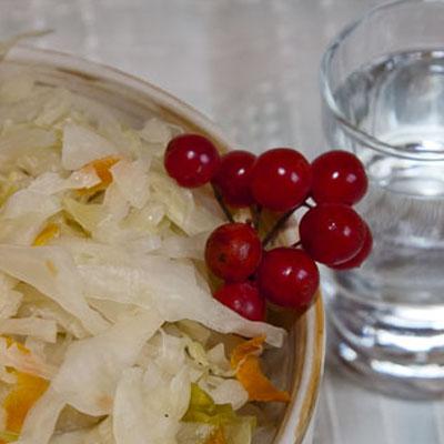 закуска к водке квашеная капуста