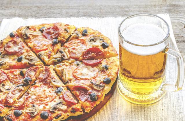 Пицца пипперони лучшая закуска к пиву в Италии