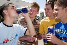 Алкоголь и подросток