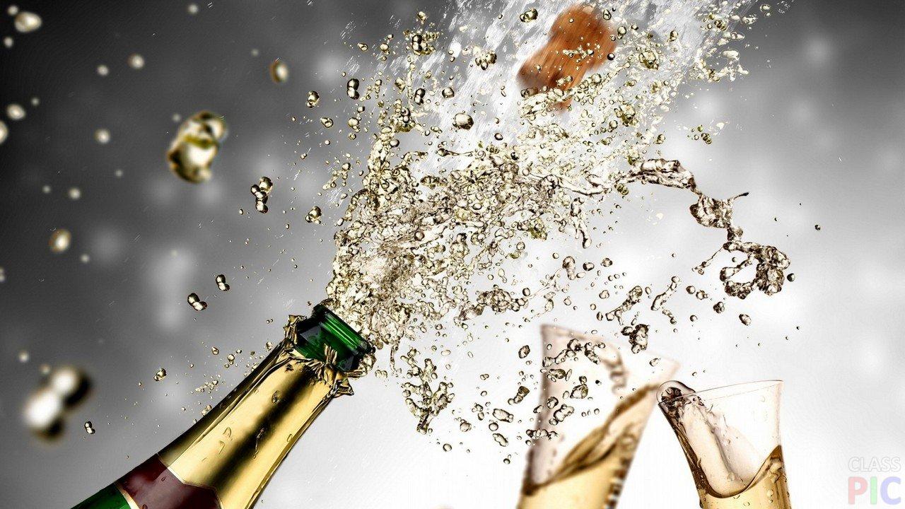 шампанское и давление